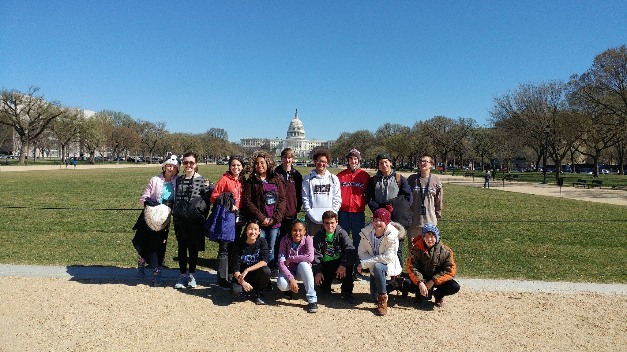 Bcs visits our nations capitol christian school