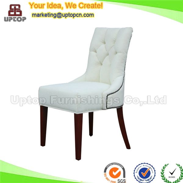 Sp Hc085 Uptop Wood Leather Uphostery Restaurant Used Dining