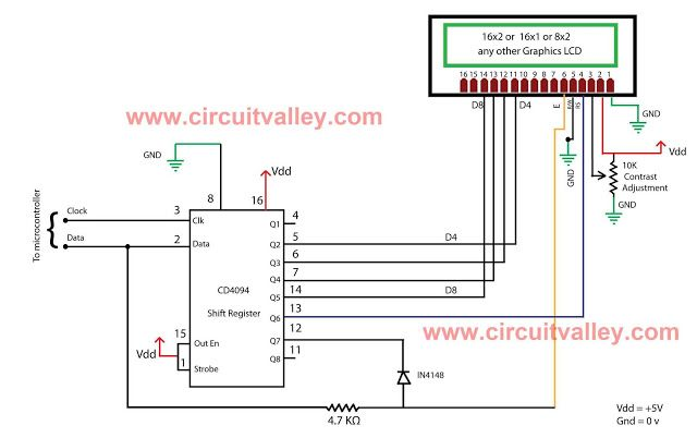 Embedded Engineering  16x2 Serial LCD (Two Wire) with PIC12F675