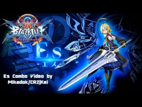 Blazblue Central Fiction - Es Combo Video | ES Blazblue