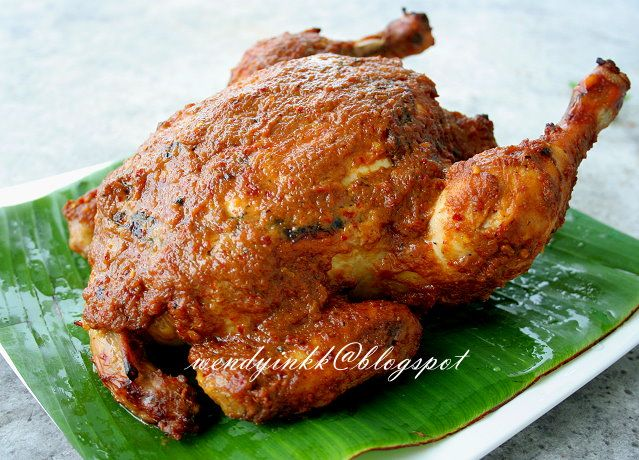 Ayam Golek Literally Means Rolled Around Chicken Something Like Rotisserie Chicken Pekan Is The Royal Town Of Pahang Of Which Chicken Roasted Chicken Food