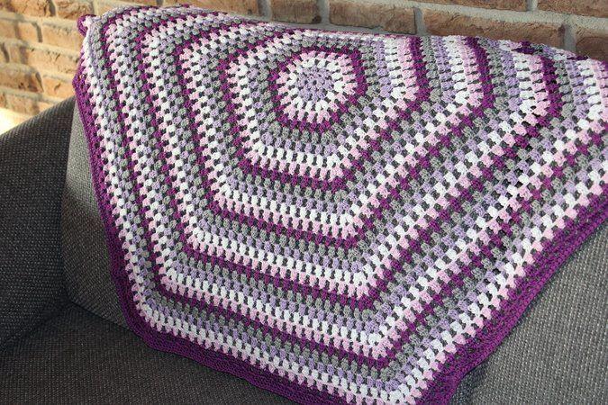Jetzt Mit Der Pdf Anleitung Eine Granny Decke Babydecke