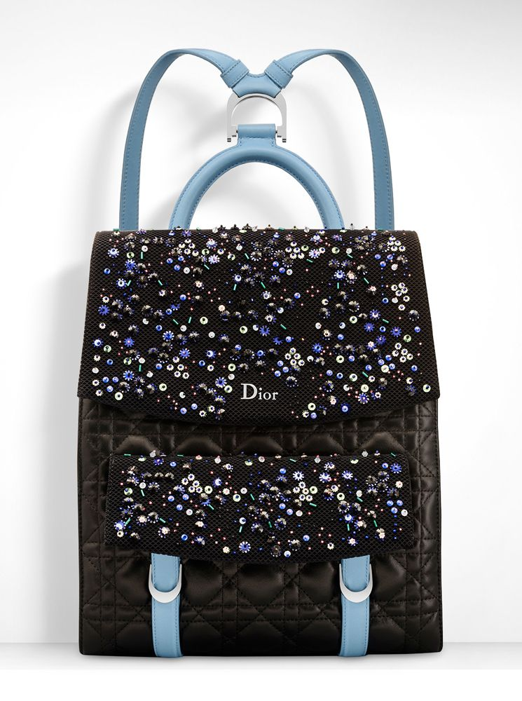 Dior Adds New Blossom Tote Backpacks To Pre Fall 2016 Bag