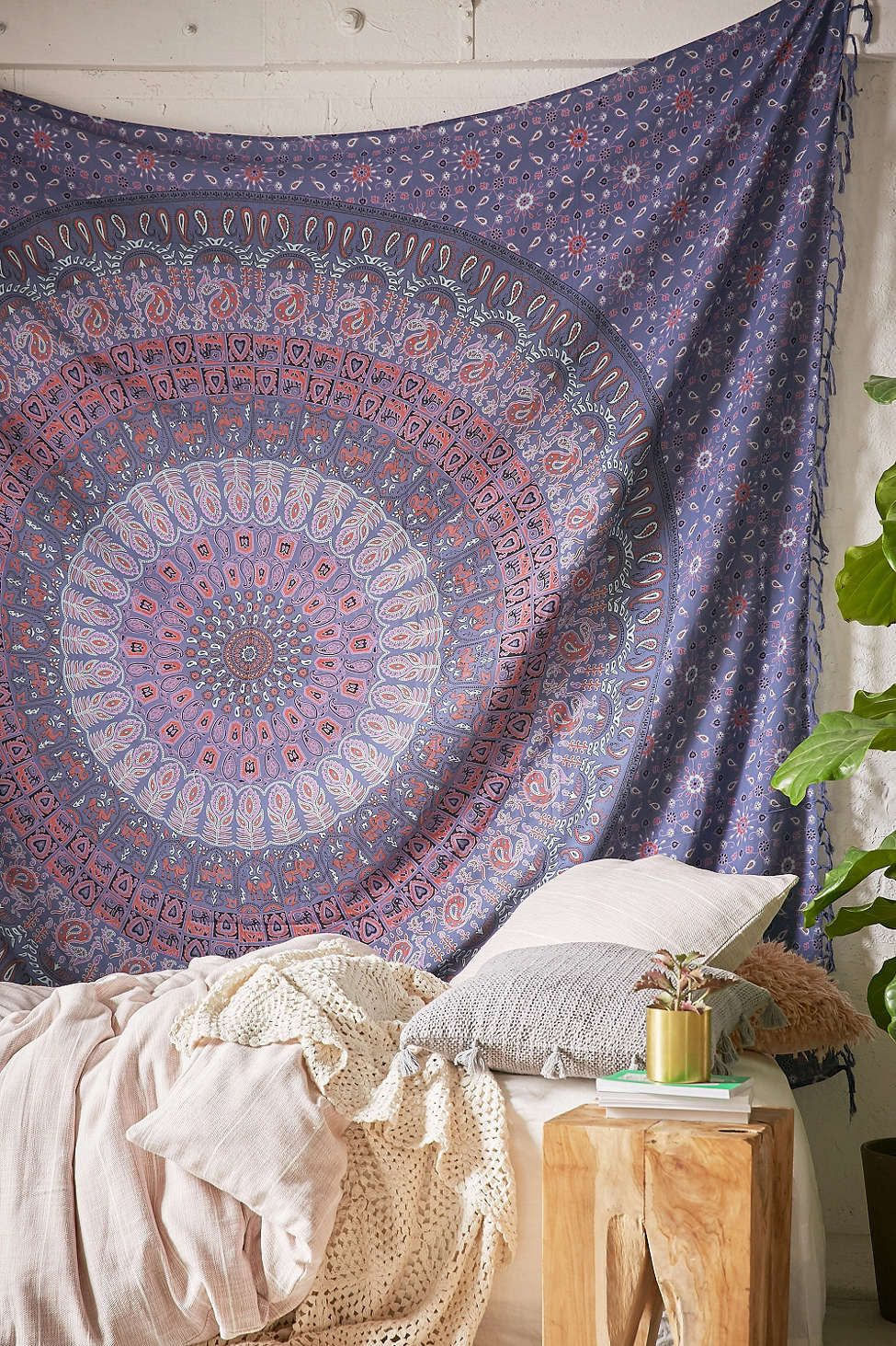 College Dorm Room   Apartment Living : Maina Medallion Tapestry Part 29