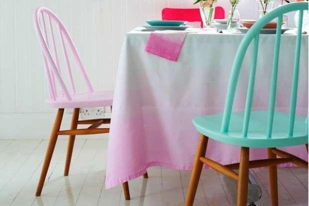 Sedie Decorate Fai Da Te : Tovaglie decorate fai da te foto tempo libero tablecloths