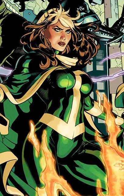marvel comics rogue