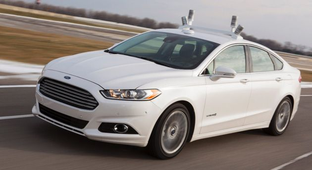 Ford S Fusion Hybrid Research Car Will Explore Our Driverless