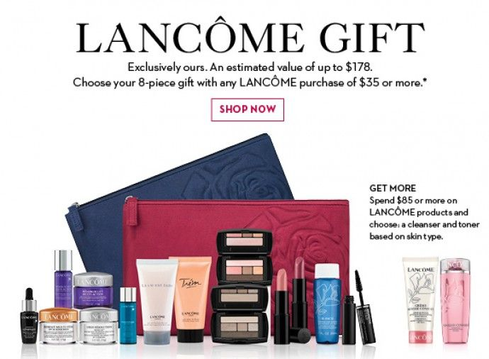 lancome gift with purchase 2013 | Hudson's Bay - Lancome Gift with Purchase | Expired Store Offers