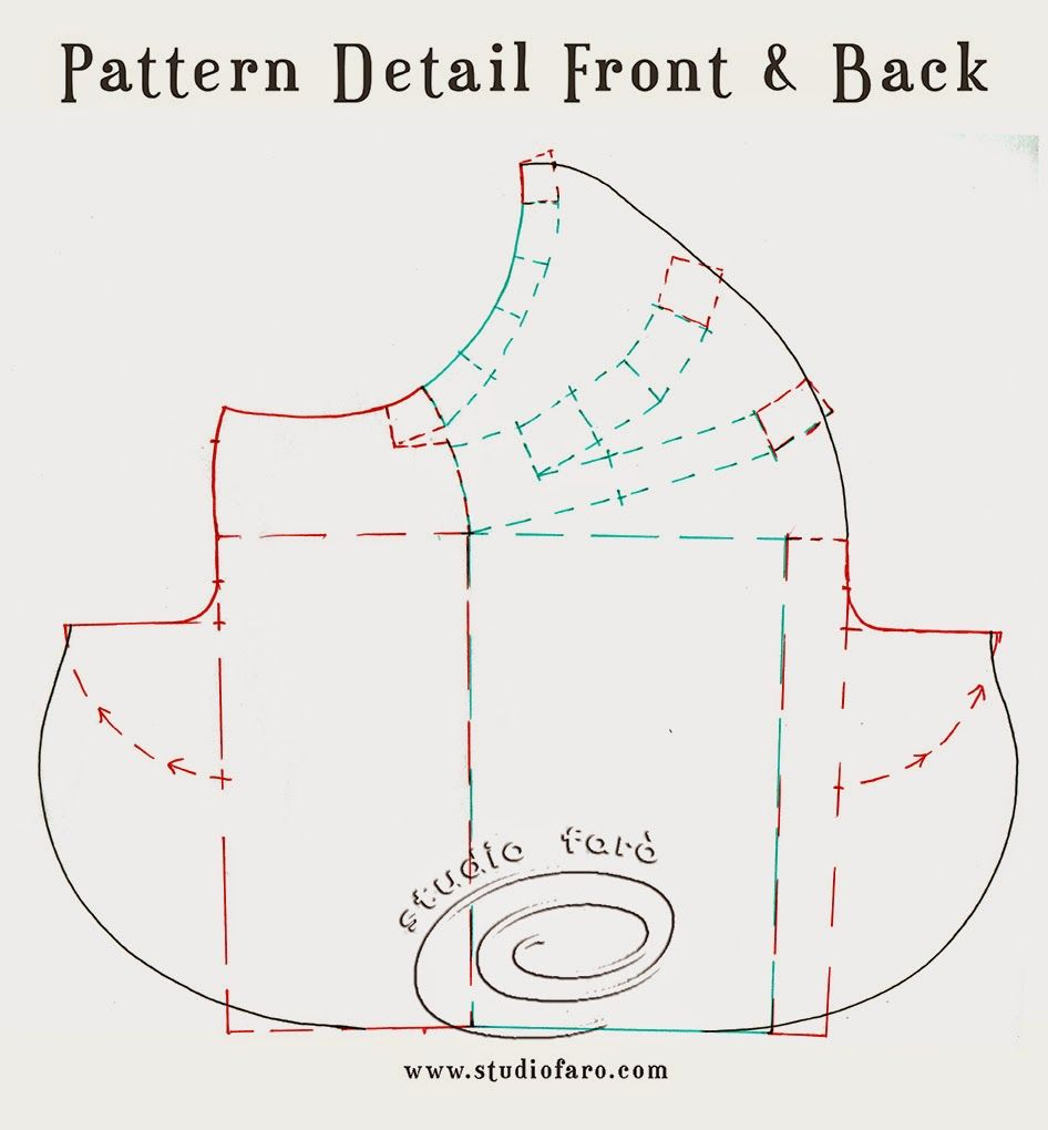 well-suited: Pattern Puzzle - Waterfall Drape Skirt | Sewing ...