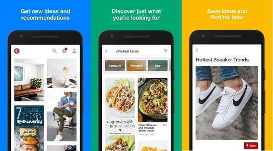 download pinterest app for android phone
