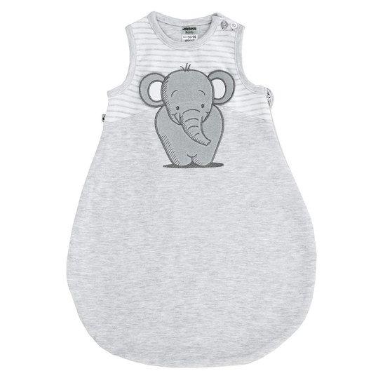 39aef65e790429 Baby Schlafsack grau Elefant von Jacky   Sommerschlafsack für Deine Baby  Erstausstattung