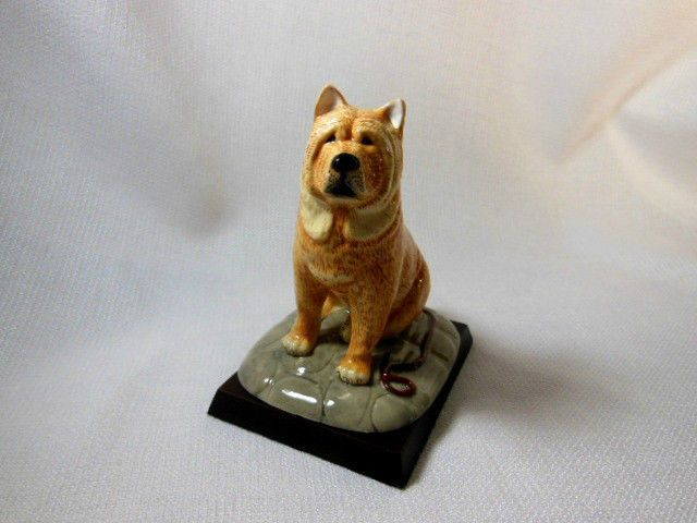 Royal Doulton Animals Collection Chow Chow Original Dog Wood