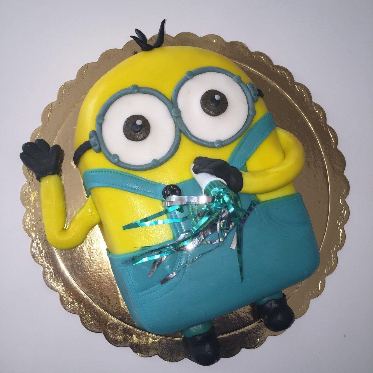 Minions flach Geburtstagstorte