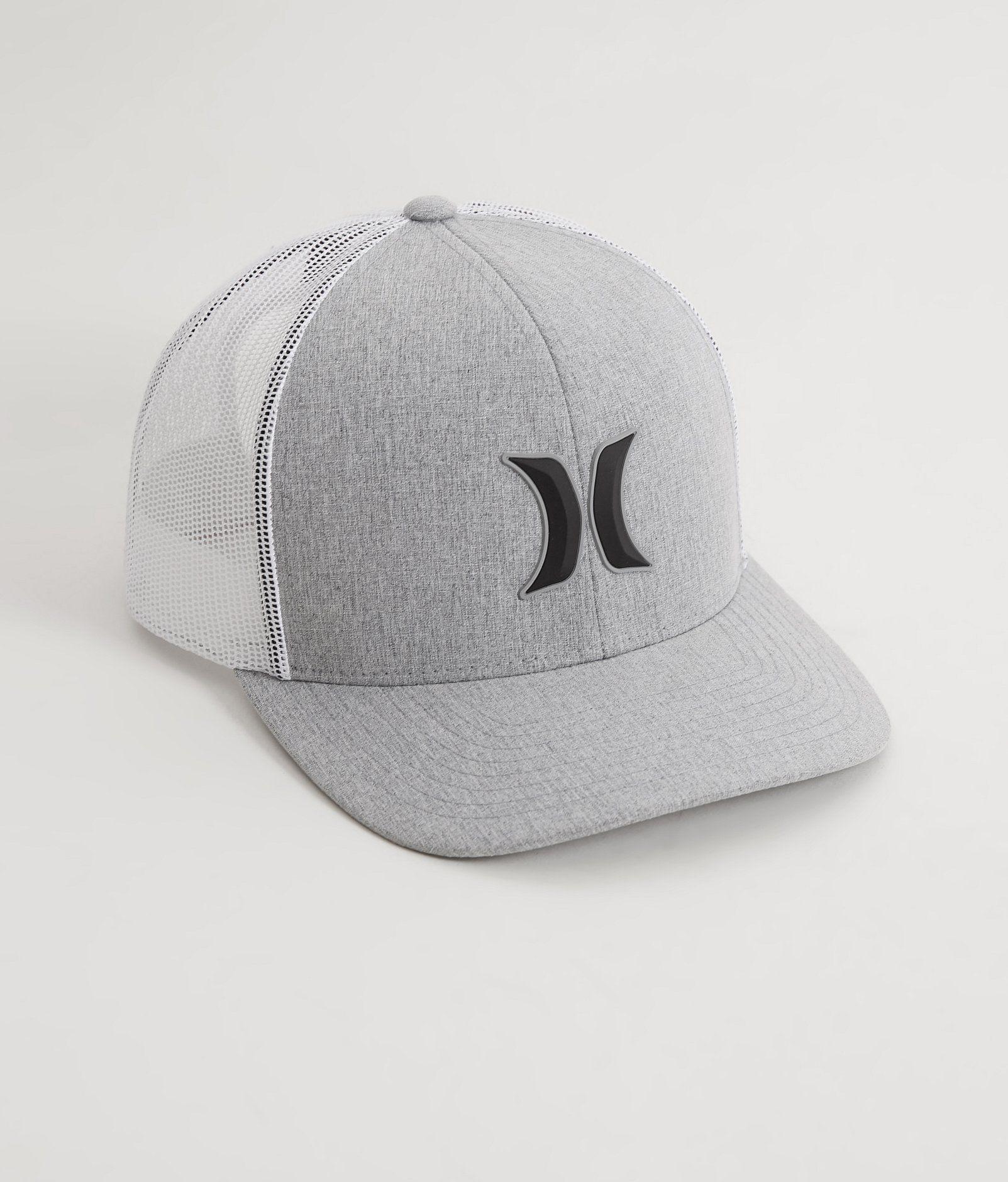 Hurley 3D Harbor Trucker Hat - Men s Hats in Cool Grey  c051daa270b