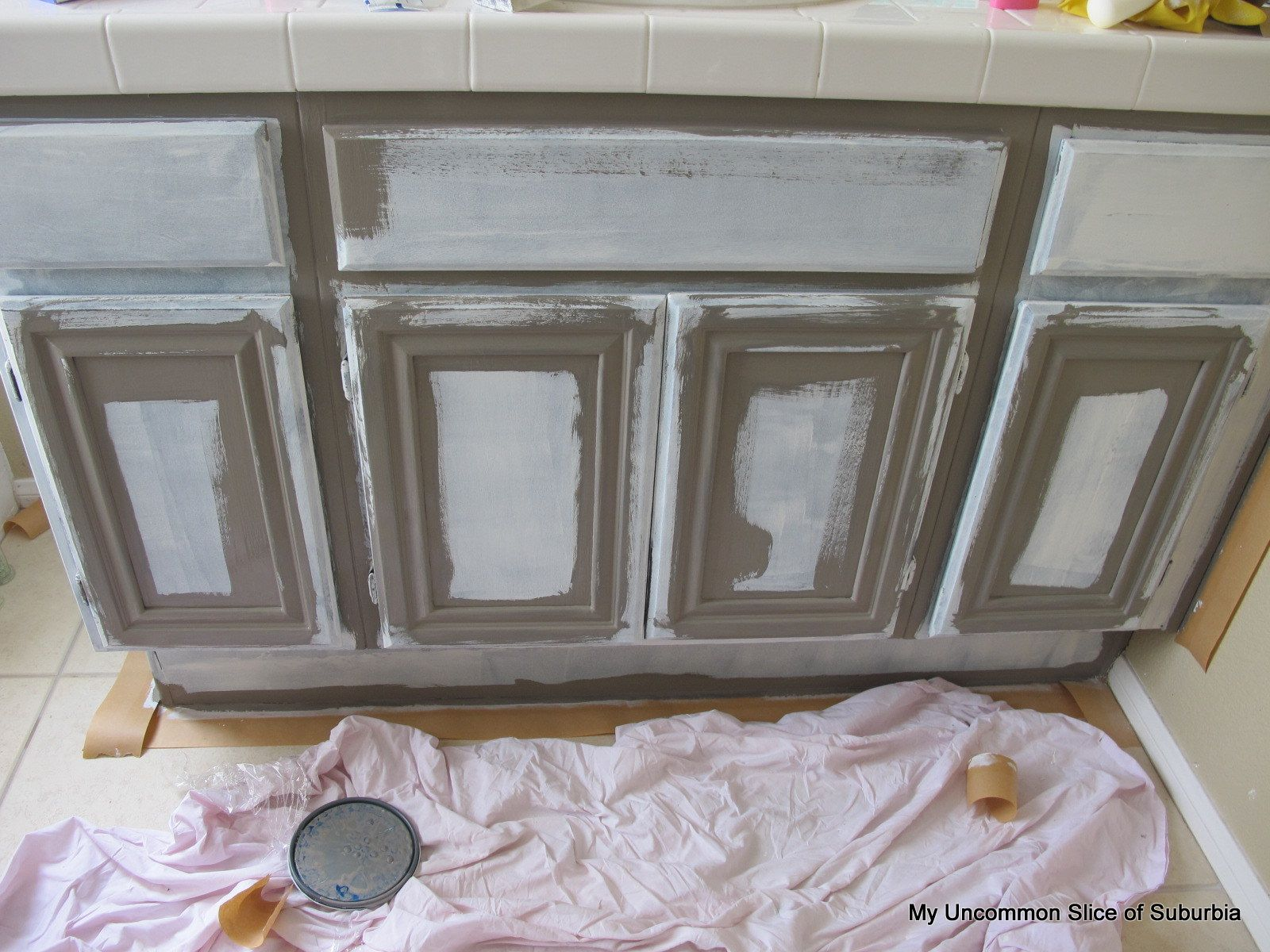 Gray Stained Kitchen Cabinets How To Paint Oak Cabinets Stains Stain Cabinets And Painting