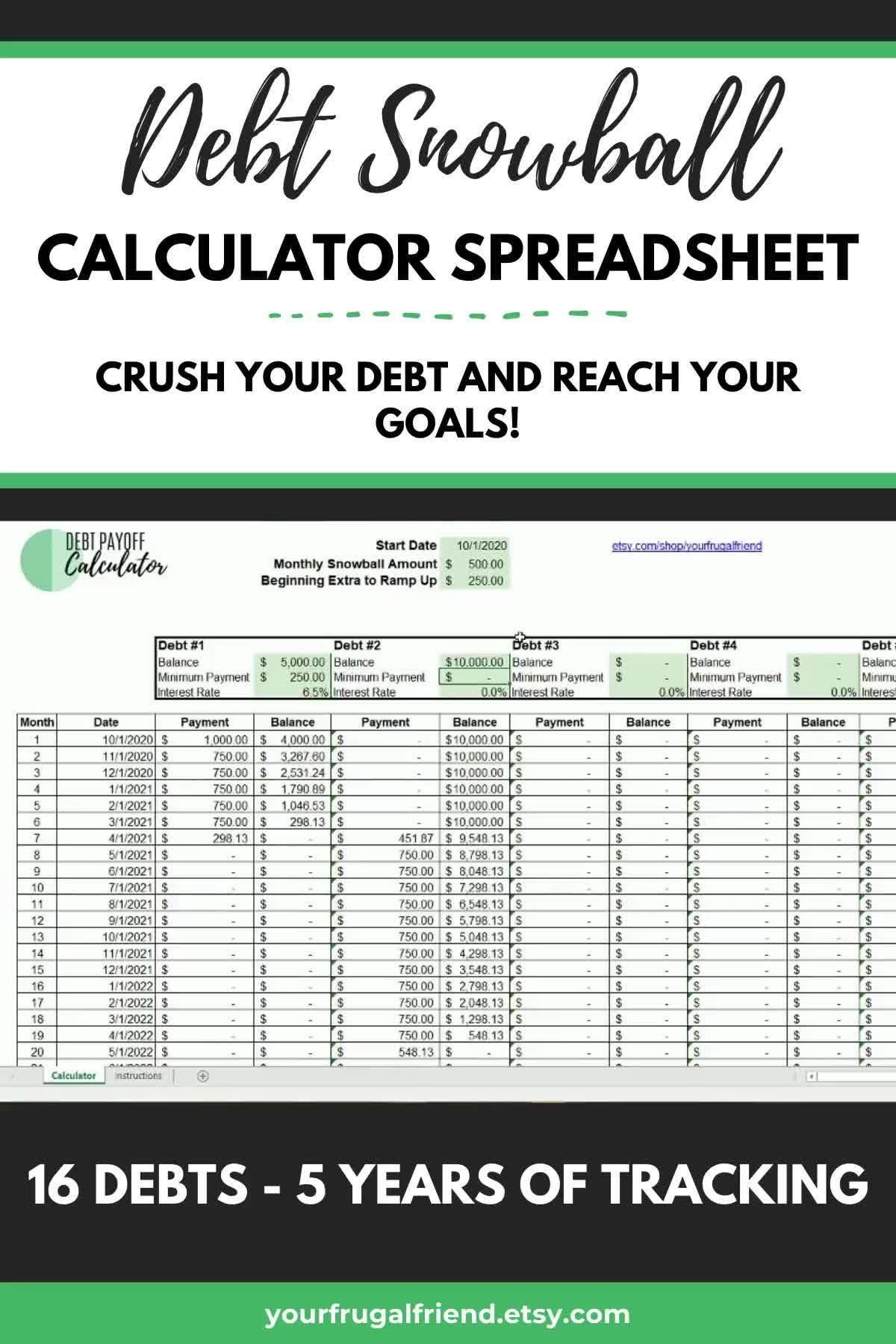 Dave Ramsey Baby Steps Discover Debt Snowball Calculator