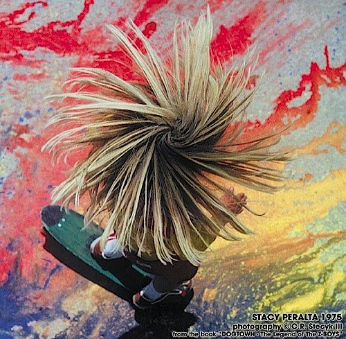 Hope my son s hair will grow like his - Stacy Peralta shot by Craig Stecyk a320adb4e6e