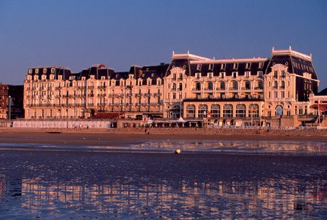 Grand Hotel Cabourg, Normandy, France.  Favourite of Proust-