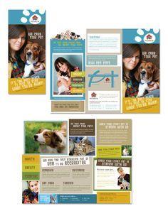 pin by karen waldron on non profit brochure design pets brochure