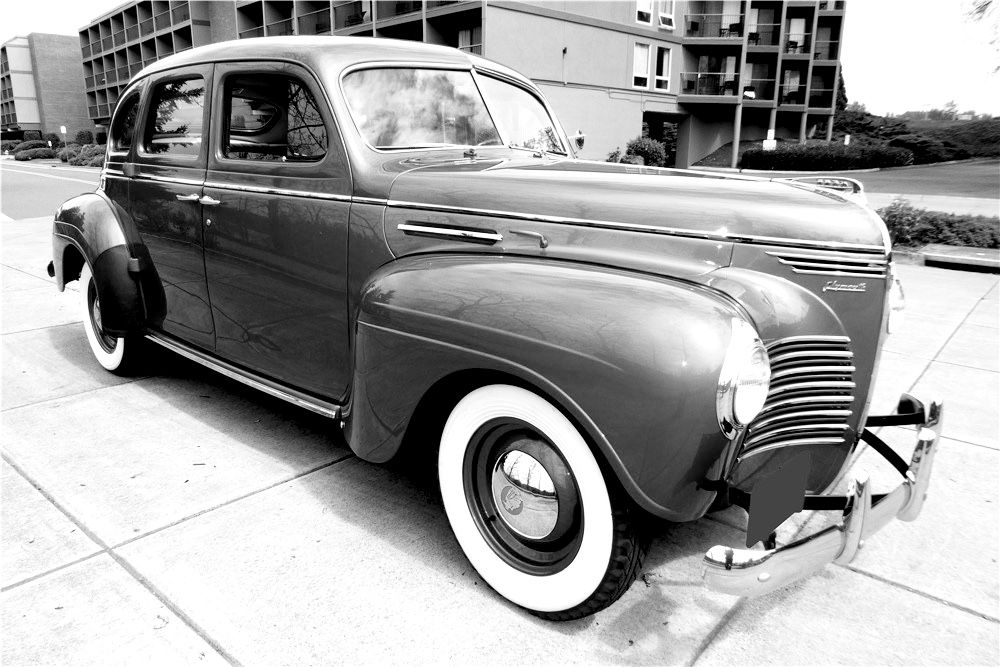 1940 Plymouth Deluxe Sedan Is Powered By L Head 301ci 6 Cylinder Engine With A 3 Speed Manual Transmission In 2020 Manual Transmission Sedan Antique Cars