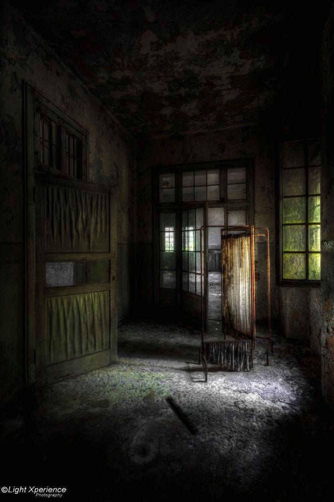 Asylum - Dark corridor by Marcel  Bellmont on 500px