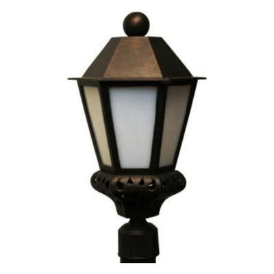 Melissa Tuscany 1 Light Post Light Finish: