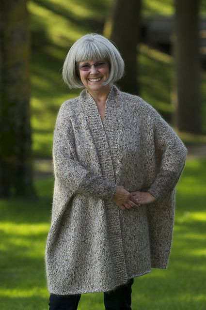 Ravelry: woolymountain's Modern Wrapper