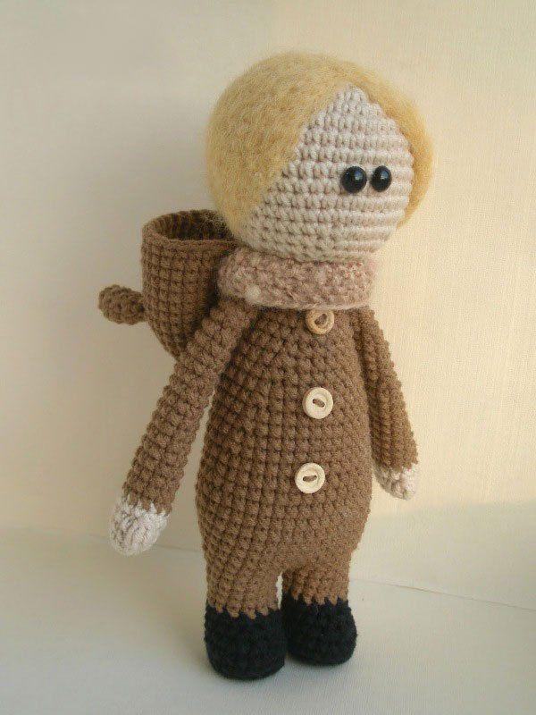 muñecas vestidas como animales crochet patrón gratis | layla ...