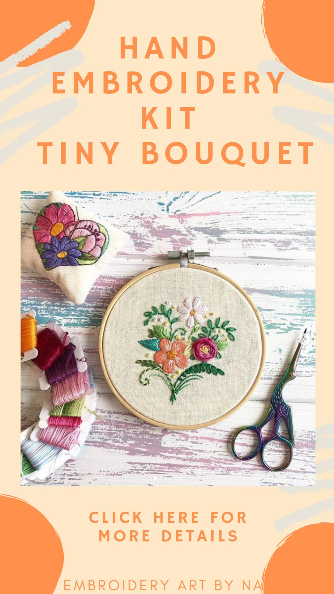 Cross Stitch Set Diy Embroidery Decor Crafts Handmade Needlework Home Thread