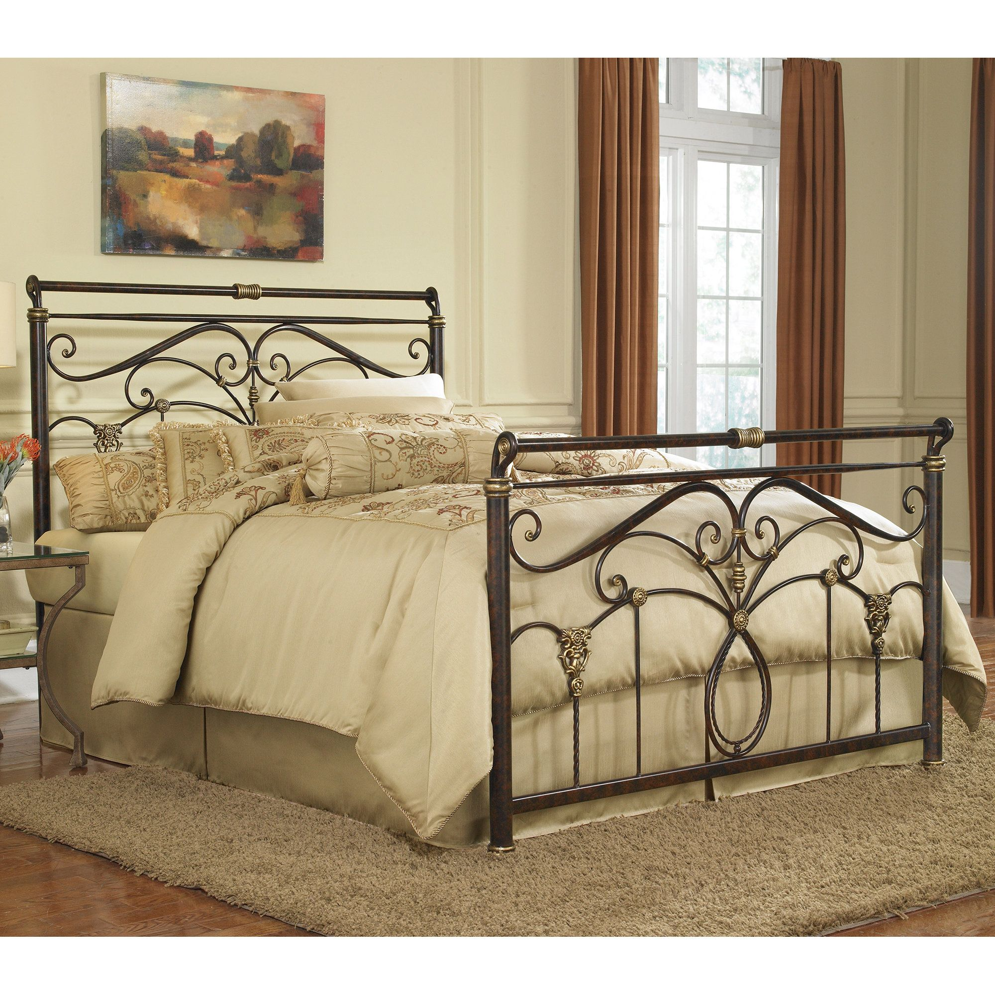 Bette Panel Bed   Products   Pinterest