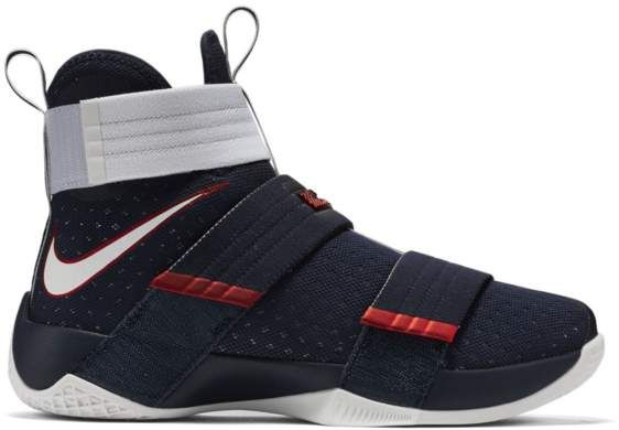 hot sale online f54ae c0d90 LeBron Zoom Soldier 10 USA in 2019 | Products | Nike lebron ...
