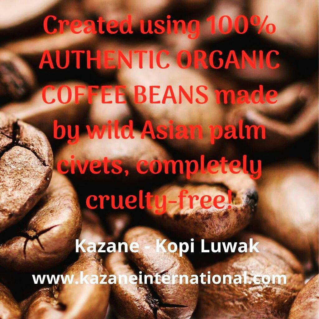 Kazaneinternational kopi Luwak Roasted Coffee Beans