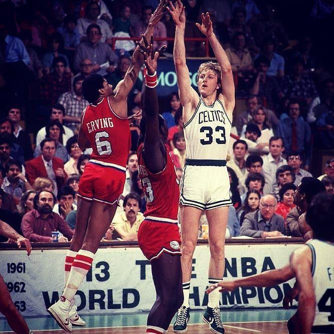The Legend vs. The Doctor  tbt  boston  celtics  juliuserving  sixers d198b1a7d
