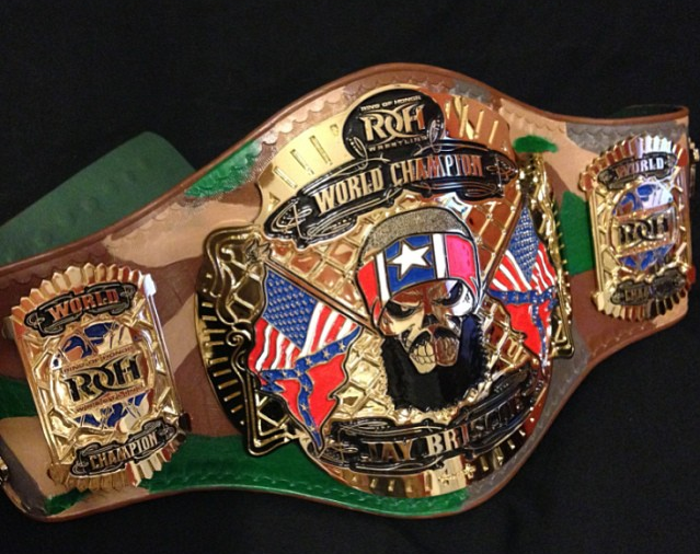 Ring Of Honor Championships Roh Wrestling Autos Post