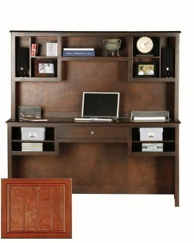 Adler Birch Double Pedestal Desk Finish: Concord Cherry By Eagle Industries.  $462.00.