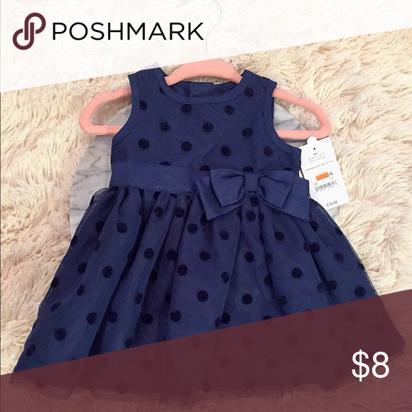 dabe3fcd4 Carter's special occasion dress: Size 3 months Navy blue special occasion  dress! So pretty! Carter's: Just One You Dresses Formal