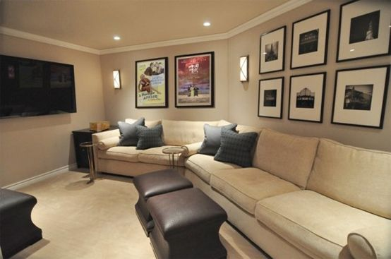 15 Cool Home Theater Design Ideas | DigsDigs | Movie Room Ideas ...