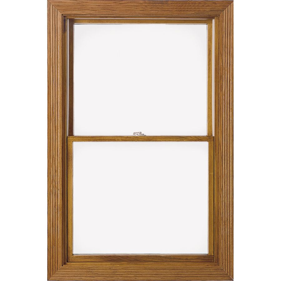 Pella 450 Series Wood Double Pane Annealed Double Hung Window Rough Opening 32 25 In X 54 25 In Actual 31 5 In X 53 Double Hung Windows Double Hung Windows