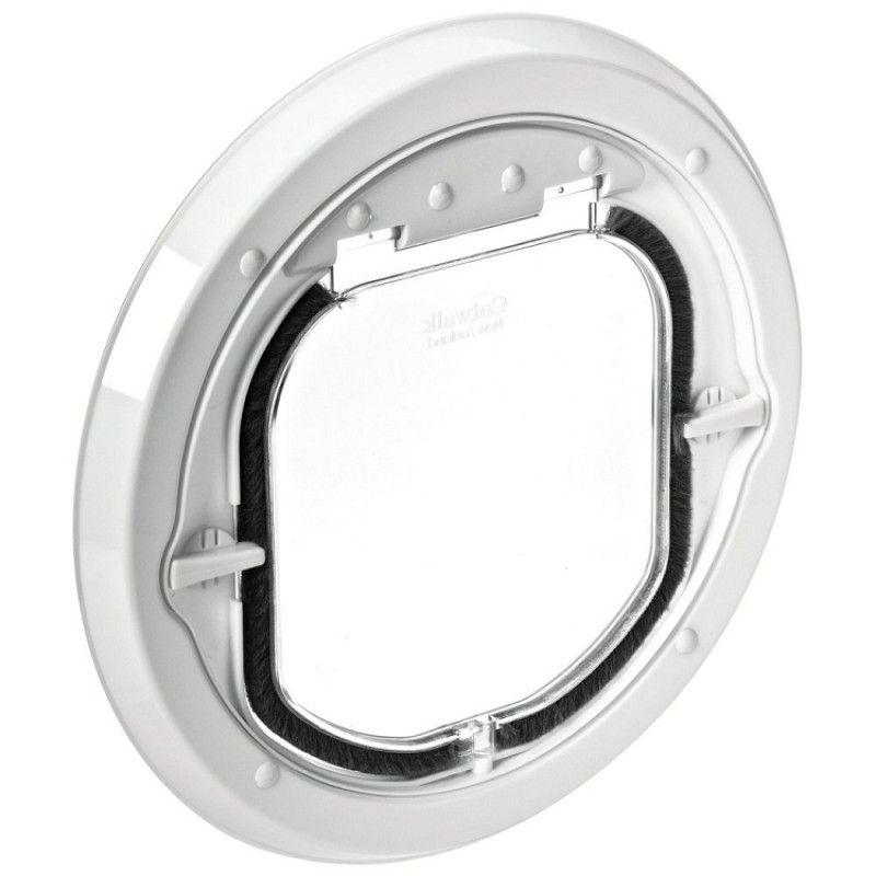 Pet-Tek Glass Maxi Dual Glaze Pet Door - White PT-G-SDDW