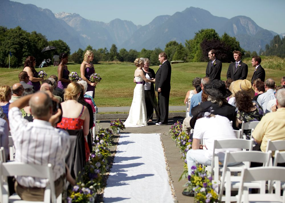 Pitt Meadows Golden Eagle Golf Club Wedding By Charlotte Gamache Photography