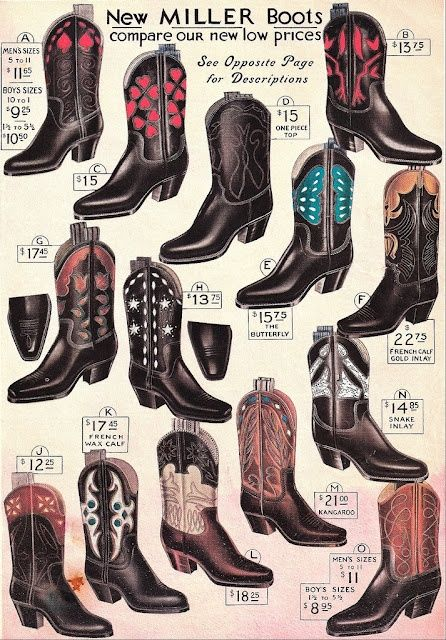 87eb3aee838 Old Cowboy Boots with Spurs | Vintage cowboy boots | Saddles, Chaps ...