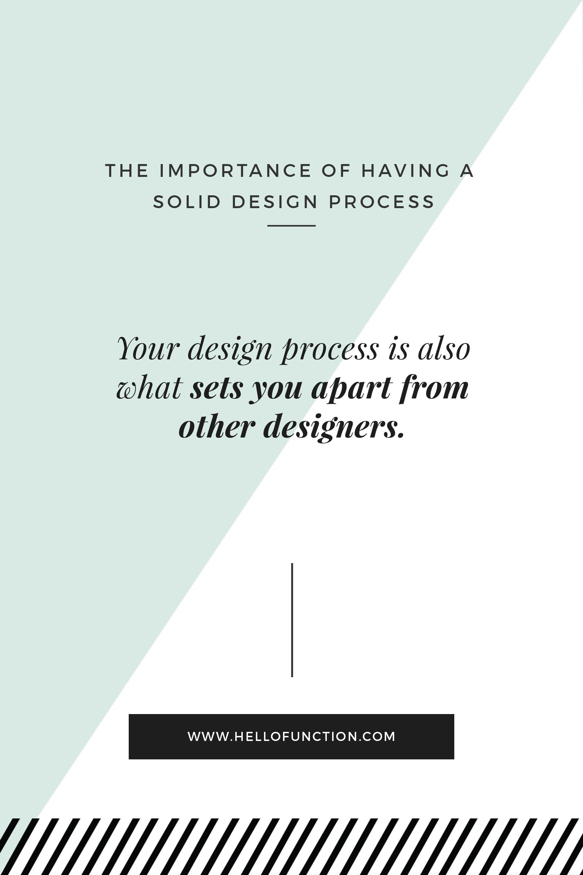 The Importance of Having a Solid Design Process | GRAPHIC