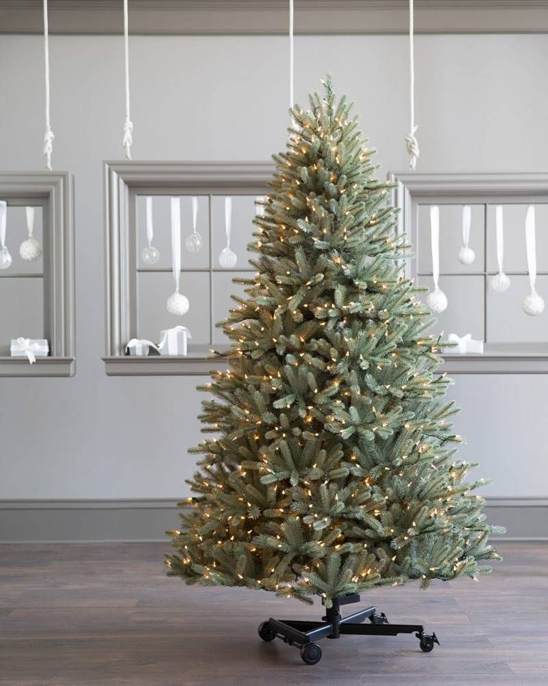 Bh Blue Spruce Flip Artificial Christmas Tree Balsam Hill Best Artificial Christmas Trees Balsam Fir Christmas Tree Christmas Tree