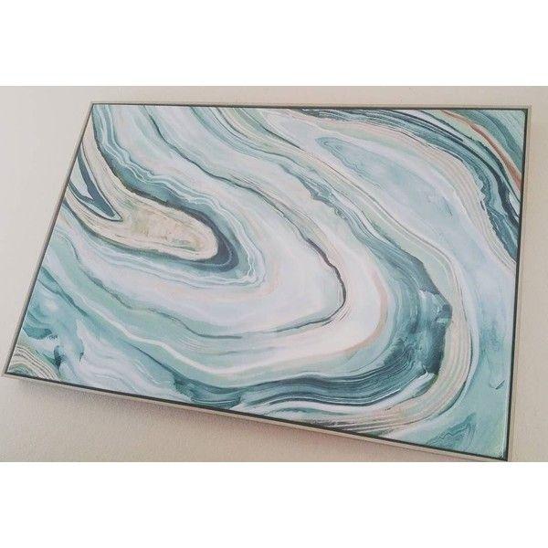 Agate framed high gloss canvas 36x24 threshold target via polyvore