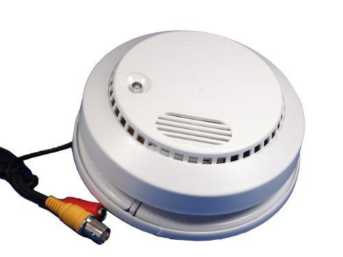 Evertech Cctv Security Camera Smoke Detector Camera Hidden Spy