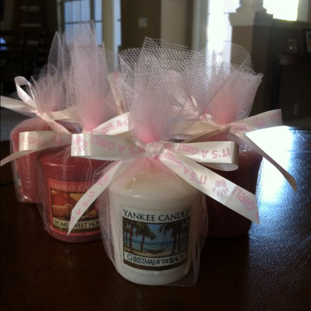 Baby Shower Favors Yankee Candle ~ Yankee candle party favors baby shower ideas pinterest