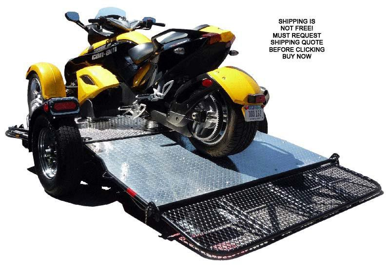 NEW Drop Tail Hydraulic Power Sports Dirt Bike Folding ATV