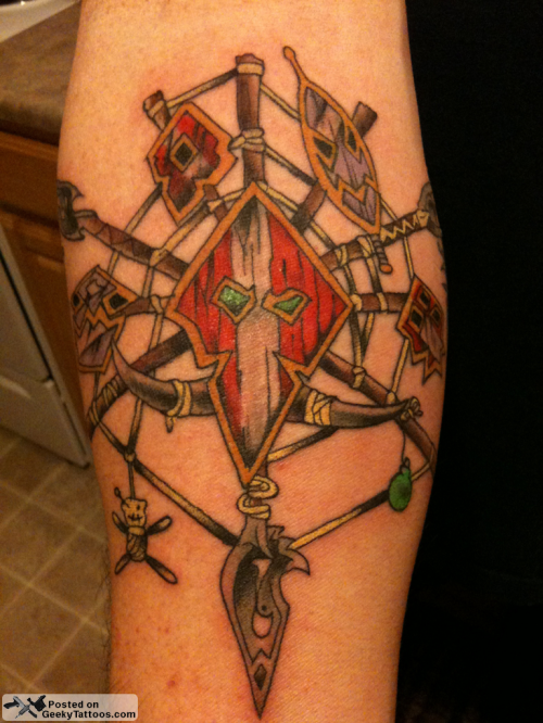 World Of Warcraft Tattoos Empire Logo With Galactic Basic And