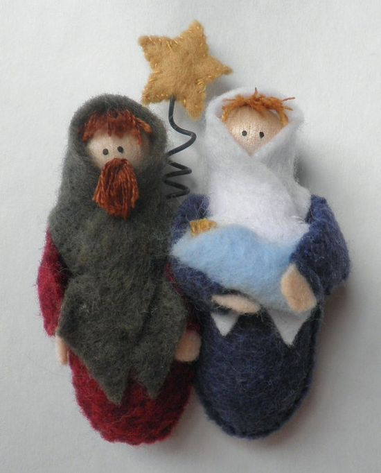 Nativity Ornament PDF pattern $5.00.
