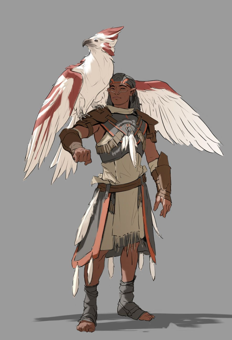 Men of Color In Fantasy Art Projektowanie postaci